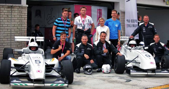 Formel 1 Feeling beim Kunden-Event auf der Rennstrecke - FORMELFEELING