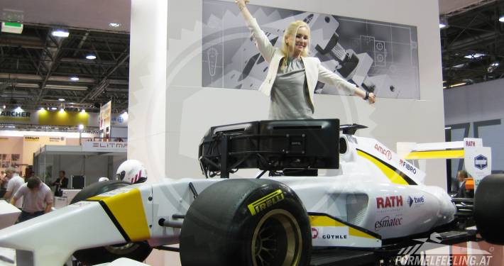 F1 Rennsimulator mieten bei FORMELFEELING