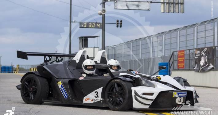 Rennwagen selbst fahren Rennstrecken-Erlebnisse im KTM-X-Bow