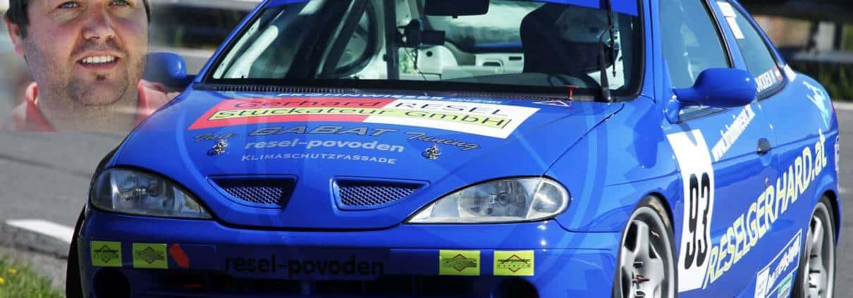 Bergrennfahrer Martin Povoden - Testfahrt im Formel-Rennwagen bei FORMELFEELING