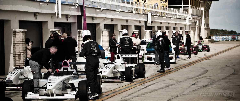 Formel-Rennwagen fahren, Formel Erlebnisse von FORMELFEELING