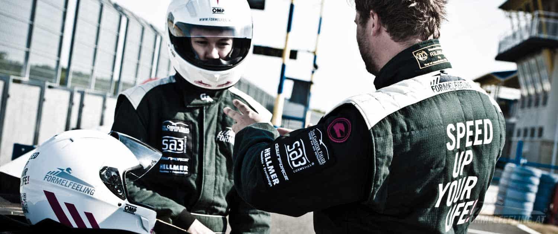 Rennfahren wie echte Formel 1 Fahrer - Formelfahren am Pannoniaring - FORMELFEELING