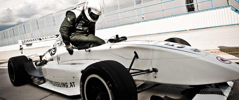 Formel Renault Rennwagen selber fahren - Pannoniaring - FORMELFEELING