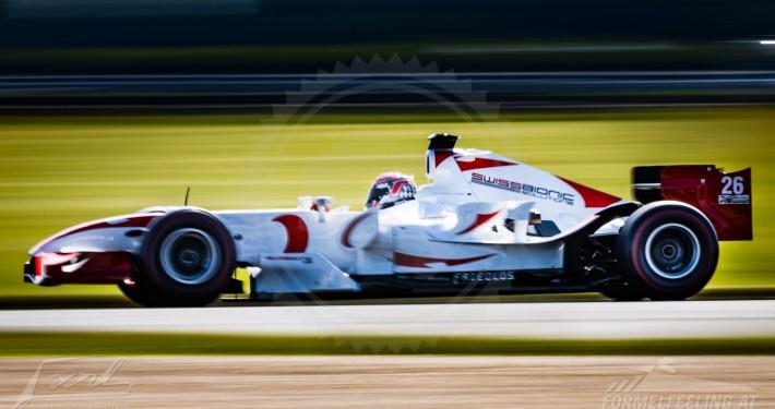 Trackday für Formel-1 Rennwagen
